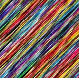 Lignes abstraites colorées pour le fond Photos stock