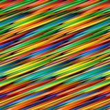 Lignes abstraites colorées pour le fond Photo stock
