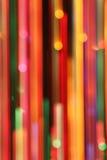 Lignes abstraites colorées tache floue Photo libre de droits