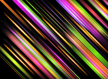 Lignes abstraites conception sur le fond foncé. Images stock