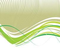 Lignes abstraites d'onde Image stock
