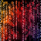 Lignes abstraites dans les couleurs au néon Images libres de droits