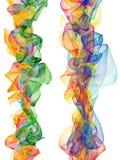 Lignes abstraites de couleur illustration de vecteur