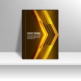 Lignes abstraites de la technologie 3d Images stock