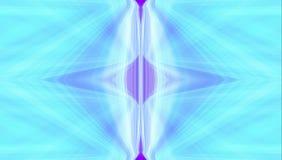 Lignes abstraites de milieux d'art bleues illustration stock