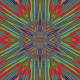 Lignes abstraites de milieux d'art bleues Image stock