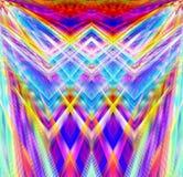 Lignes abstraites de milieux d'art bleues Photo stock