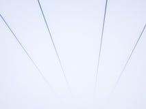 Lignes abstraites de symétrie Image libre de droits