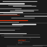 Lignes abstraites et modernes fond de vecteur Image stock
