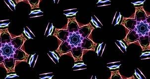 Lignes abstraites jaunes fond de particules de courbes illustration de vecteur