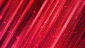 Lignes abstraites rouges de mouvement illustration stock