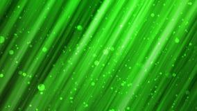 Lignes abstraites vertes de mouvement illustration stock