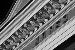 Lignes architecturales de l'empire Image libre de droits