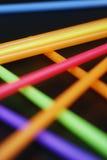 Lignes au néon Photographie stock libre de droits