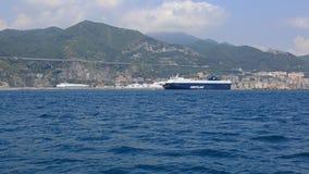 Lignes bateau de Neptune Images libres de droits