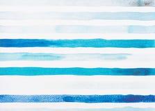 lignes bleu-clair et de turquoise d'aquarelle photo libre de droits