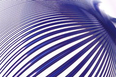 Lignes bleues Photo stock