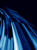 lignes bleues abstraites Photographie stock