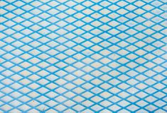 Lignes bleues texture en métal de fond photo libre de droits