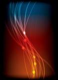 lignes brillées Images stock