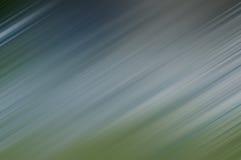 lignes brouillées Froid-bleues et vertes dans la direction diagonale Images stock
