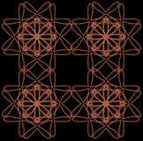 Lignes brouillées par couleur Photo libre de droits