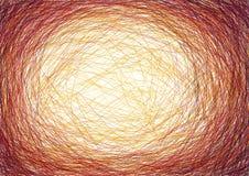 lignes circulaires superposantes illustration de vecteur