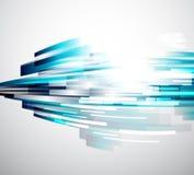 Lignes circulantes fond abstrait de vecteur Image libre de droits