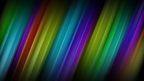 Lignes colorées diagonales rendu 3D abstrait illustration libre de droits