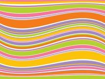 Lignes colorées abstraites. Vecteur Photos stock