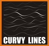 Lignes Curvy illustration libre de droits