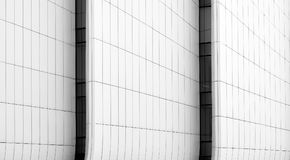 Lignes d'abrégé sur panneau de construction dans l'architecture image stock