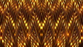 Lignes d'or fond banque de vidéos