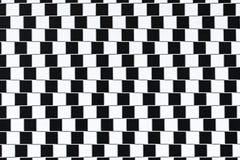 Lignes d'illusion optique photographie stock libre de droits