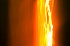 Lignes d'incendie Photos stock