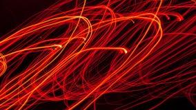 Lignes d'incendie circulaires image libre de droits
