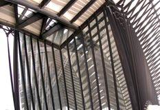 Lignes dans l'architecture Image libre de droits