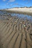 Lignes dans le sable Images libres de droits