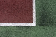 Lignes de court de tennis image stock