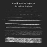 Lignes de craie texture Photo stock