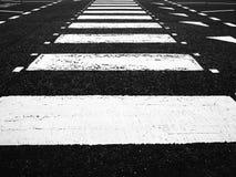 Lignes de croisement au sol Images libres de droits