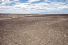 Lignes de désert de Nazca Image stock