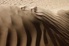 Lignes de désert de Taklamakan Photos stock