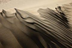 Lignes de désert de Taklamakan Photographie stock