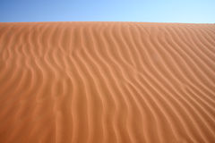Lignes de déserts Photographie stock libre de droits
