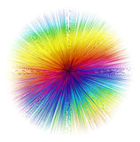 Lignes de filet de couleur Photos stock