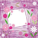 Lignes de fleur illustration libre de droits