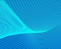 Lignes de grille bleues de modèle lumineux de couleur sur un fond illustration libre de droits