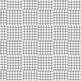 Lignes de grille géométriques sans couture abstraites d'ornement illustration de vecteur de fond de modèle illustration libre de droits