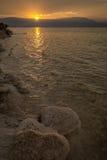 Lignes de lever de soleil Photo stock